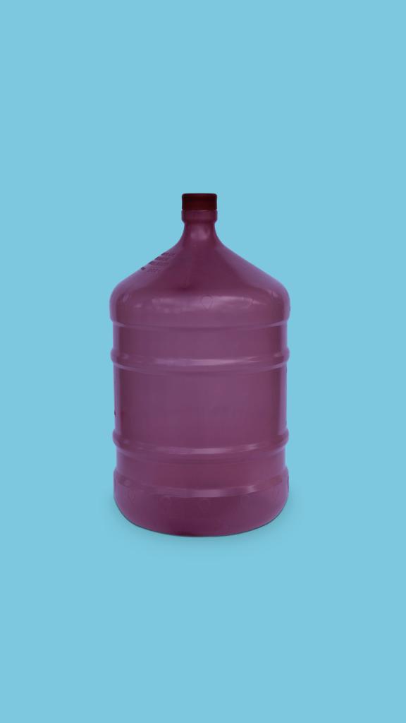Galão de 20 litros PP roxo para água mineral Plástico São Pedro