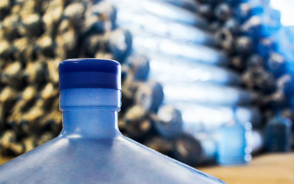 Fábrica de vasilhames para água mineral